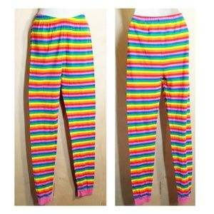 The Children's Place, colorful striped leggings